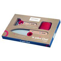 Opinel - Le petit Chef, Couteaux de cuisine, 3-pce - 254304