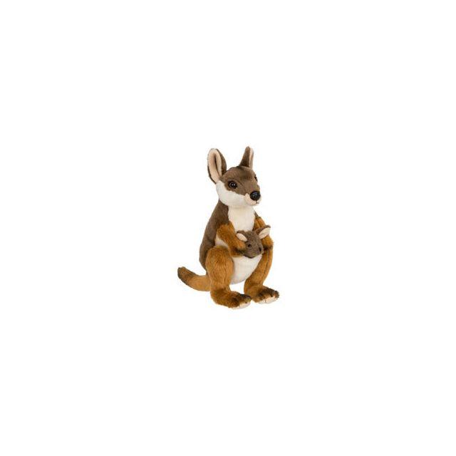 Neotilus Wwf Wallaby avec bébé 19 cm