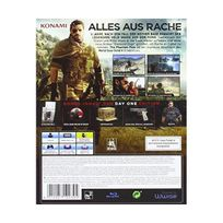 Konami - Metal Gear Solid V : The Phantom Pain - édition day one import allemand