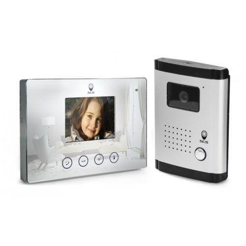 Scs Sentinel - Interphone vidéo 4 fils - Fonction miroir - Fonction ...