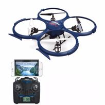 Breizh-modelisme - Drone 6 Axes Discovery U818A Wifi Fpv Maintient d Altitude