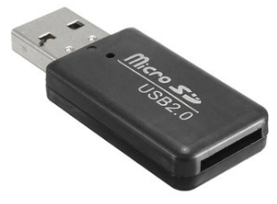 BGD - Carte 2Gb + adapteur USB