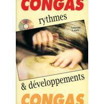 Play Music Publishing - Méthodes Et Pédagogie Lamy Laurent - Congas Rythmes Et Developpements + Cd - Percussions Percussion
