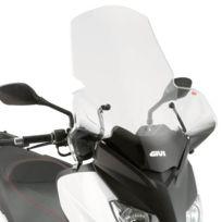 Givi - Bulle incolore +30cm 446DT+D446KIT, Yamaha 125/250 X-max 10-13