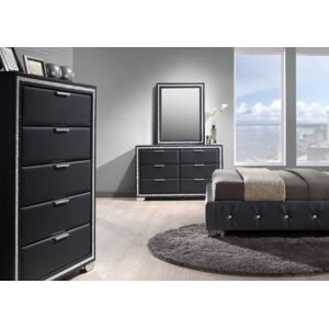 commode noire pas cher finest commode noire laque commode tiroirs bois laqu noir moderne uno. Black Bedroom Furniture Sets. Home Design Ideas