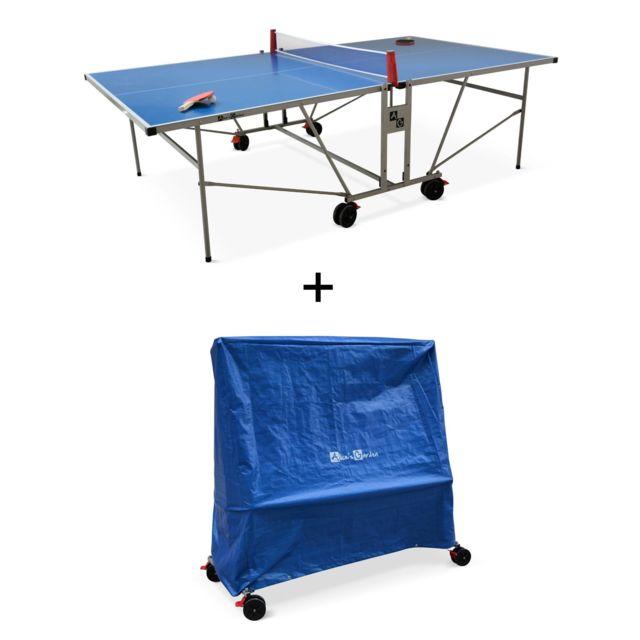 Fine Alices Garden Table De Ping Pong Outdoor Bleue Avec Sa Download Free Architecture Designs Embacsunscenecom