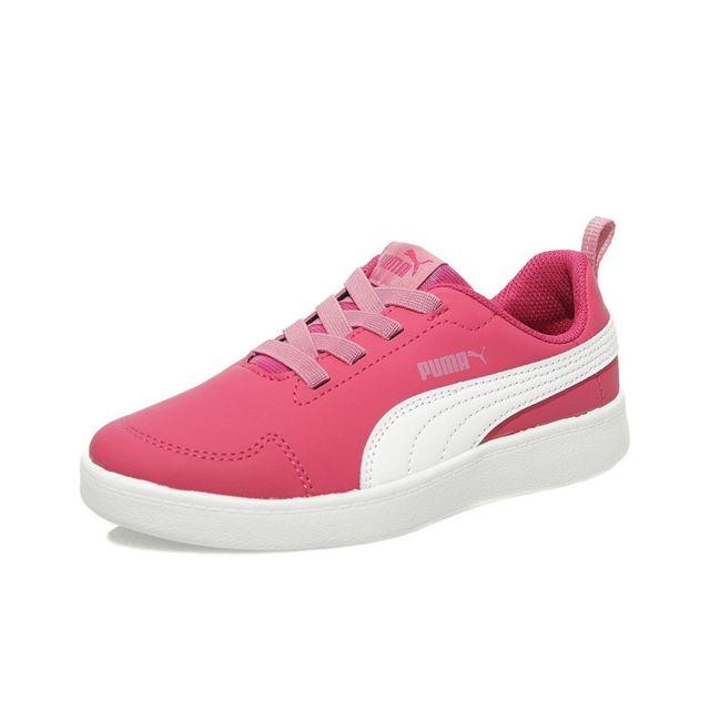 Rose Pas Chaussures Multicouleur Ps 34 Cher Fille Puma Courtflex 1Tc3JFKl