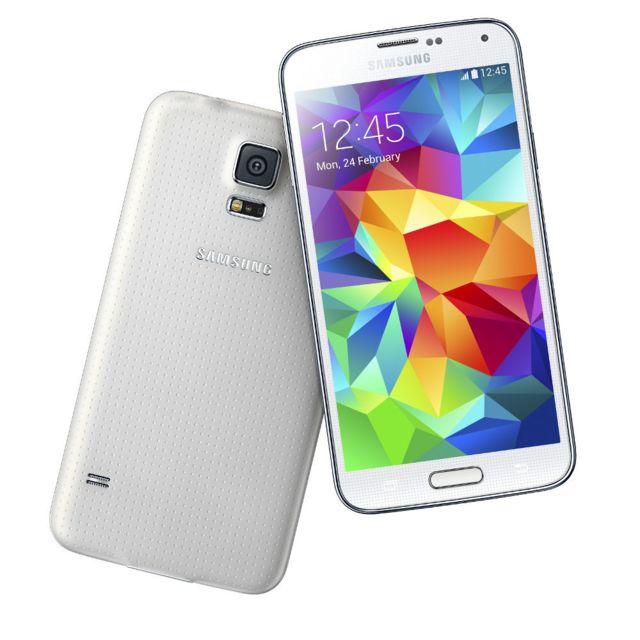 Samsung - Galaxy S5 4G Blanc