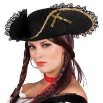 - Tricorne pirate femme