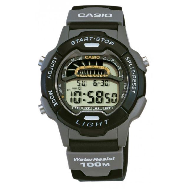 Casio W729h 1A Multifonction Quartz digitale Alarme  j4iRB
