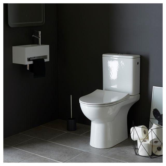 planetebain pack wc rimless trium sortie verticale pas cher achat vente wc rueducommerce. Black Bedroom Furniture Sets. Home Design Ideas