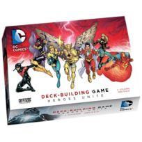 Cryptozoic Entertainment - 330255 - Jeu De Cartes - Dc Comics Heroes Unite - Deck Building