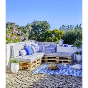 alba coussin assise pour palette taupe l157 pas cher achat vente coussins galettes de. Black Bedroom Furniture Sets. Home Design Ideas
