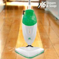 Big Buy - Balai Vapeur Avec Savon Steam & Soap X6