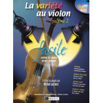 Lemoine - Partitions Variété, Pop, Rock. Leclerc M./ Leclerc O La Variete Au Violon Vol.2 + Cd - Violon, Piano Cordes