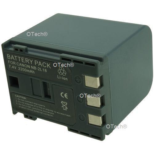 Otech batterie appareil photo pour canon dv 350d ixy
