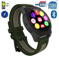 Yonis - Smartwatch Bluetooth universelle montre connectée waterproof Vert