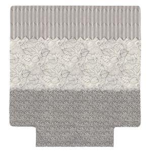 linnea housse de couette 280x240 cm 100 coton natura ecru multicolore 280cm x 240cm pas. Black Bedroom Furniture Sets. Home Design Ideas