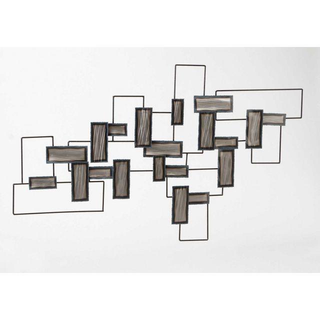 amadeus d cor mural design en m tal pas cher achat vente cadres p le m le rueducommerce. Black Bedroom Furniture Sets. Home Design Ideas