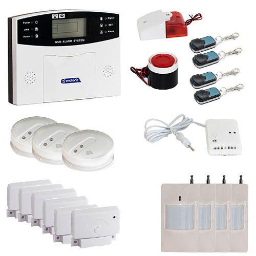 Extraordinaire EMATRONIC - Alarme maison sans-fil filaire GSM AL01 ULTIMATE 4-5 ST-91