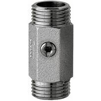 Presto - Robinet d'arrêt droit Mâle - 15 x 21 mm - avec filtre plat