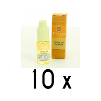 Pulp - Lot 10 e-liquides Corne de Gazelle 18mg soit 4,90 euros le flacon 10ml