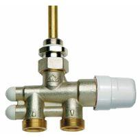 Rbm - Robinet 4 voies - thermostatisable - installation bitube & monotube