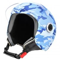 Helmetdress - Blue Camouflage