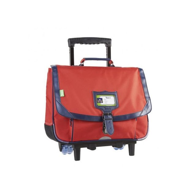magasin en ligne fc4e7 123d3 Tann`S Cartable a Roulette - 2 Compartiments - Primaire - 38 cm - Salsa -  Enfant Garçon