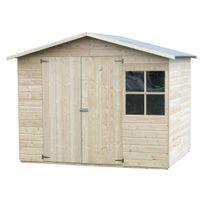 Decoretjardin - Abri de jardin bois Loguec 12 mm - 4,42 m²