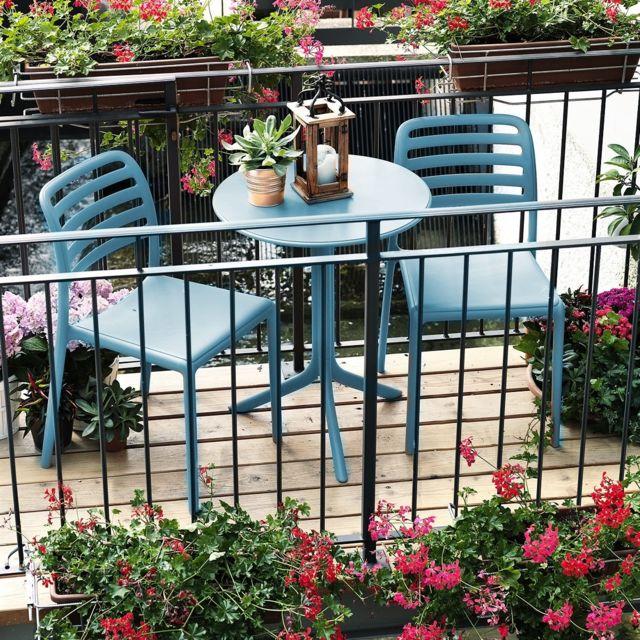 Petit salon de jardin & terrasse design Costa Spritz