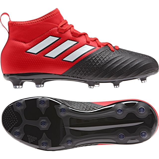 Adidas Chaussures junior Ace 17.1 Fg rougeblancnoir
