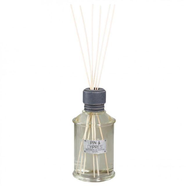 Paris Prix Diffuseur de Parfum avec 12 Bâtons 1000 ml Pin & Cyprès