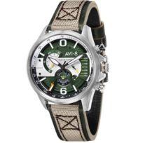 Avi-8 - Montres Vert pour Homme - Av-4056-02