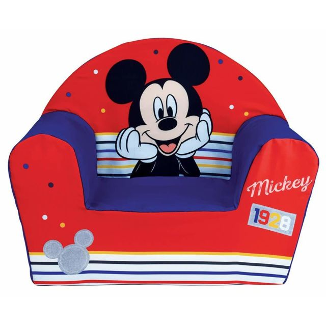 Bebe Gavroche Fauteuil Club mousse Mickey Mouse Disney