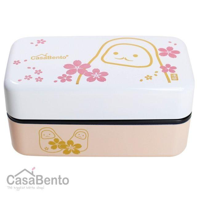 Casabento Boîte à Bento Daruma Blanc