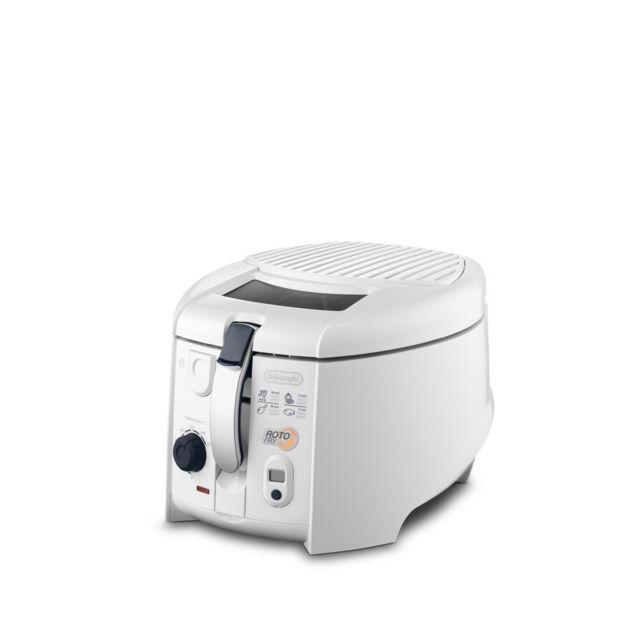 Delonghi friteuse électrique 1,2L de 1KG avec minuteur 1800W blanc