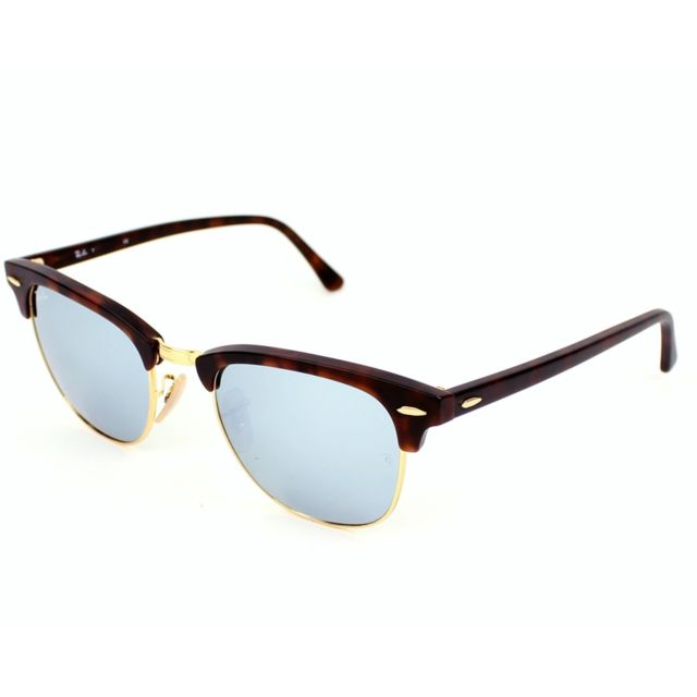 4033bbef8f090 Ray-Ban - Ray Ban - Clubmaster Rb3016 1145/30 Havane mat - Or ...