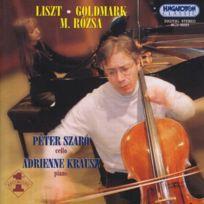 Hungaroton Classics - Karl goldmark - franz liszt - miklos rozsa duo op.8 - sonate op.39 - consolation