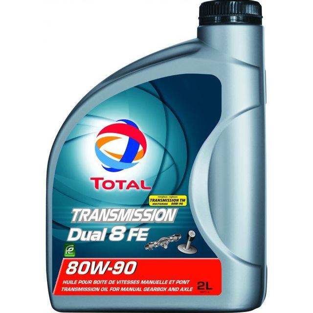 total huile de boite transmission dual 8 fe 80w90 achat vente huile de boite de vitesse pas. Black Bedroom Furniture Sets. Home Design Ideas