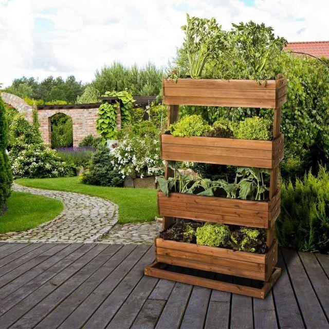 Empasa Jardiniere Pour Balcon Hors Sol Surelevee Cube 4