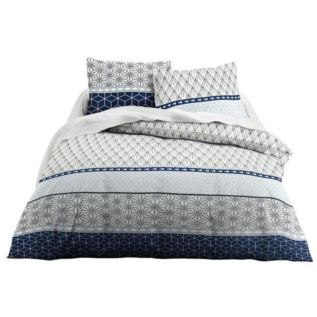 Parure de lit motif japonais best linge de lit en flanelle drap becquet with parure de lit - Housse de couette japonaise ...