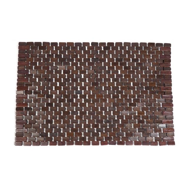 wadiga caillebotis pour salle de bain en bambou chocolat pas cher achat vente serviettes. Black Bedroom Furniture Sets. Home Design Ideas