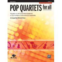 Alfred Music - Partitions Variété, Pop, Rock. Alfred Publishing Story Michael - Pop Quartets For All - Flute Solo Vents
