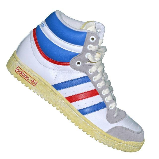 En Hi Solde G60128 Originals Blanc Baskets Ten Adidas Top BrCedxo