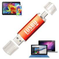 "I Usb U - Cle Usb double 32 Go ""Classe A"" pour smartphone, tablette Android, Pc et Mac, Usb - micro Usb ""OTG"