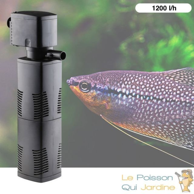 Aqua Occaz Filtre Aquarium, Intérieur De 1200 l/h Pour Aquarium De 300 L