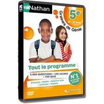 Mindscape - Nathan - Graines De Génie 5E 12-13 Ans - Pc - Neuf