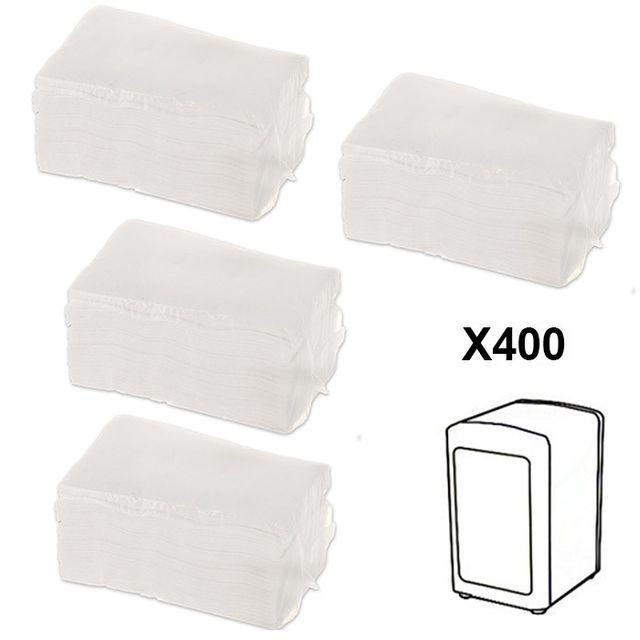 touslescadeaux - recharge 400 serviettes en papier pour
