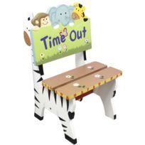 FANTASY FIELDS - Chaise siège fauteuil banc animaux bois décor chambre enfant bébé mixte W-8270A